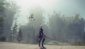 NieR Automata - Engine Blade' Final Fantasy XV Collaboration Gameplay Trailer (PS4)