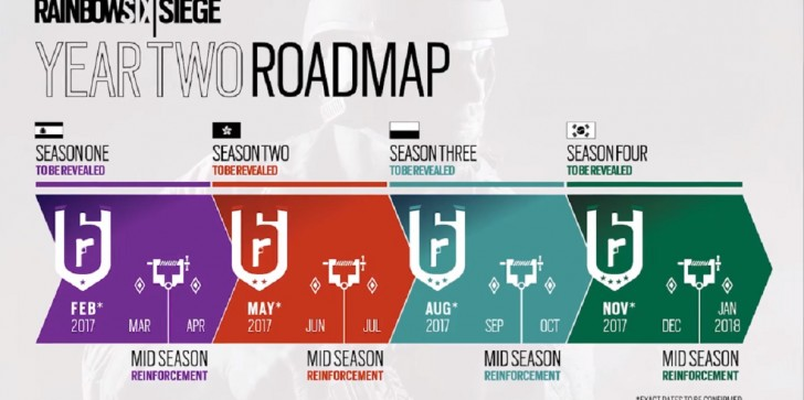 'Rainbow Six Siege' Latest News & Update: Year Two New Roadmaps Revealed; Spain, Hong Kong, Poland, and South Korea Featured Next Season