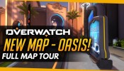 Overwatch New Map Oasis - Full Map Tour