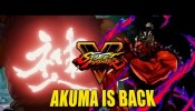 AKUMA IS BACK: Street Fighter 5 Teaser & Details