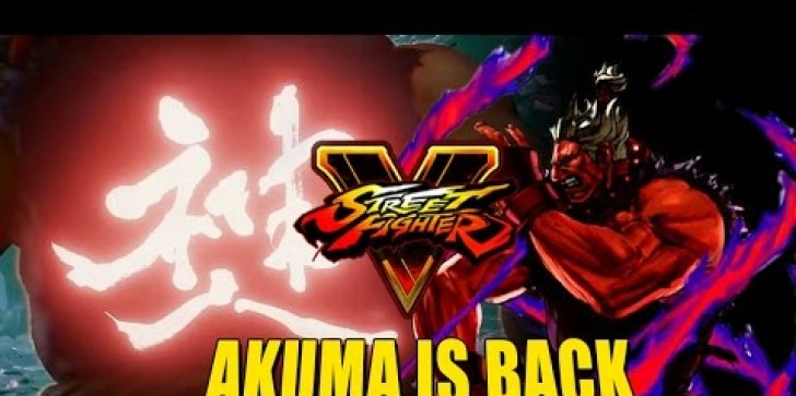 'Street Fighter 5' Latest News & Update:  The Return Of Akuma ?