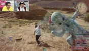 FINAL FANTASY XV - Giant Cactuar Boss Fight l Level 40 Cactuars Mobhunt Gameplay l V-Jump Event