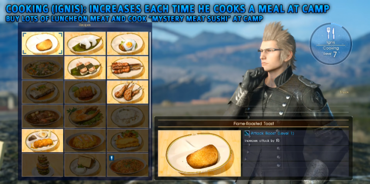 'Final Fantasy 15' Tips, Guides, News & Update: How to Max Out All Skills Quickly