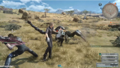 FINAL FANTASY XV - All Weapon Types Gameplay l All Weapons & Transformation [Platinum & JD Demo]