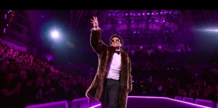 Bruno Mars YouTube Video Performing at the Victoria's Secret Fashion Show 2016 Hit 1 Million Views in Just One Day!
