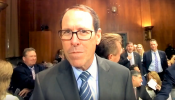 BBN speaks with AT&T CEO Randall Stephenson and Time Warner Jeff Bewkes #Antitrust