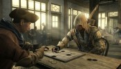 Assassin's Creed 3 screenshot  - Connor playing games