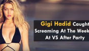 Caught screaming! That's bad of Gigi!