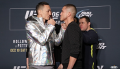 Max Holloway and Anthony Pettis Interview Highlights and Face Off
