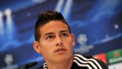 James Rodriguez - Real Madrid Training and Press Conference