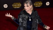 Carrie Fisher - Premiere Of Walt Disney Pictures And Lucasfilm's 'Star Wars: The Force Awakens' - Arrivals