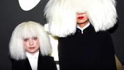 Sia & Maddie Ziegler On The Red Carpet (Grammy's 2015)