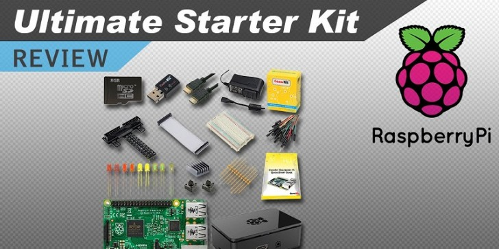 Raspberry Pi 3 Latest News & Update: Cap Off 2016 With Three Of The Best Raspberry Pi 3 Starter Kits