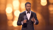 Ryan Reynolds dedicated his award to the cancer patients