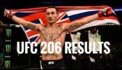 UFC 206 Results: Max Holloway TKOs Anthony Pettis