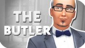 THE SIMS 4 | NPC CAS — THE BUTLER