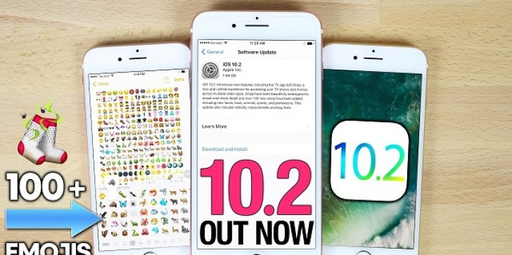 """""""iOS 10.2"""" Latest News & Updates: Apple Releases iOS 10.2 Packed With New 100 Emojis, TV Apps, Amazing Features!"""