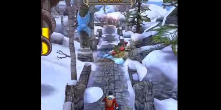 'Temple Run 2' Latest News & Update: Holiday Update Brings Winter Wonderland To The Game Including Santa & Mrs. Claus