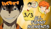 [All Funny Moments] Haikyuu!! Montage ~ part 3/3 [720p]