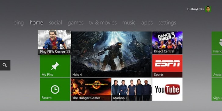 Microsoft Moving To Windows 8 Live Tiles For next Xbox360 Dashboard Update, Phasing Out Points System[RUMOR]