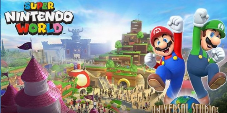 Super Nintendo World News: Looking Where To Spend Your Christmas Vacation? Nintendo's First Universal Studios Park Opens! Meet The 'Super Mario Bros!'