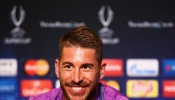 Sergio Ramos Real Madrid Training and Press Conference