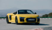 2017 Audi R8 Spyder V10 Exterior, Interior and Drive