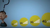 The difference between 2G 3G 4G and lte . What is 4G ? How does 3G and 4G works ?