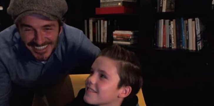 David Beckham's 11 Year Old Son Is Giving Away All Of His Song's Proceeds To Charity