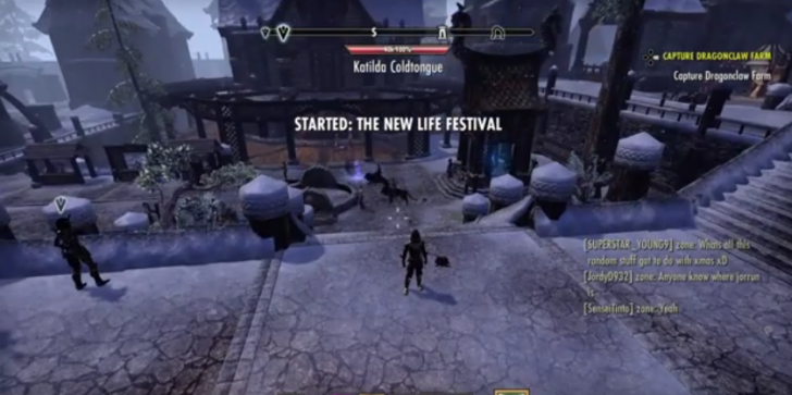 'The Elder Scrolls Online' News & Updates: The New Life Festival Holiday Event Awards EXP Bonuses And Special Quests!