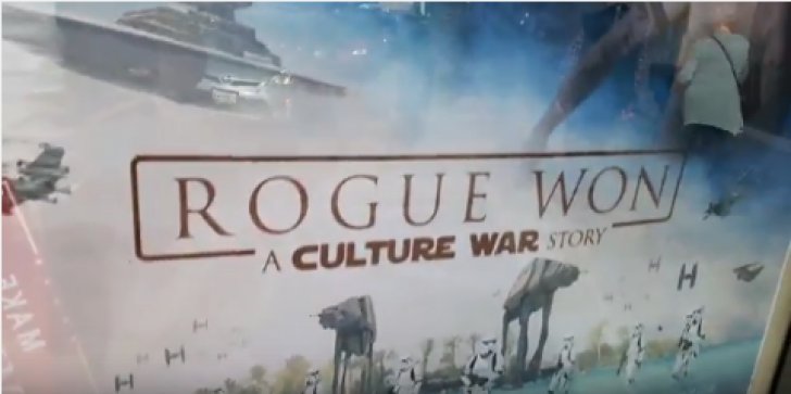 'Rogue One' or 'Rogue Won': The False Posters Put Donald Trump in Star Wars Universe