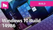 Windows 10 Build 14986 - Cortana, Windows Ink, Defender, Updates + MORE