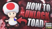 HOW TO UNLOCK FREE CHARACTERS (TOAD) IN SUPER MARIO RUN!