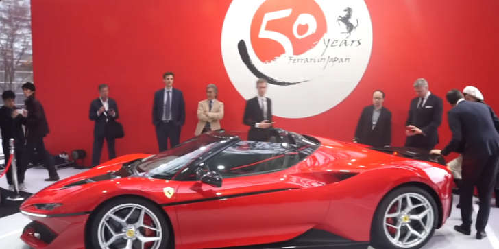 Ferrari J50 Roadster World Premiere Latest News & Update: Limited Edition Of Luxury & Style Launched In Japan