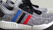 Latest Drop Orignal Adidas NMD R1 Tri Color PK Primeknite Runner Shoes Double On Feet Full HD 2016