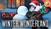 MEI'S SNOWBALL OFFENSIVE! - Overwatch Winter Wonderland Update (New Skins & Brawl Gameplay)