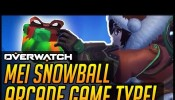 Overwatch News and Update: Join the Winter Wonderland Christmas Arcade Games and Win Loot Boxes