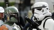 Boba Fett and a Stormtrooper