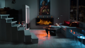 Iron Man's Manhattan Apartment Fireside Video in 4K