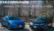 Car Comparison | Honda Civic vs Hyundai Elantra | Driving.ca