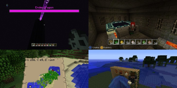 New Screen Shows Off New Features of Title Update 9 for Minecraft on Xbox 360