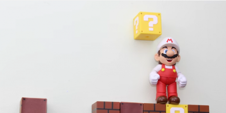 'Super Mario' Fans Creates Stop Motion Animation Video Of Iconic Plumber From Rubik's Cube