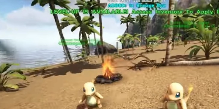 Players Can Now Hunt For Pokemon In 'ARK: Survival Evolved'
