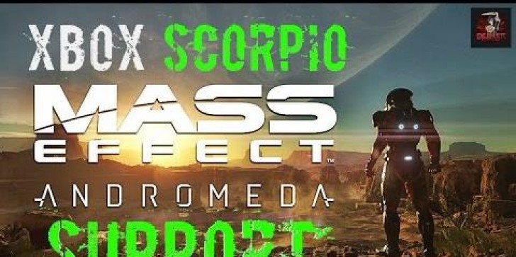 Mass Effect: Andromeda  On Project Scorpio Refined Version