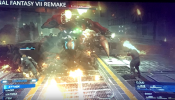 New Final Fantasy VII remake combat pics: ATB &