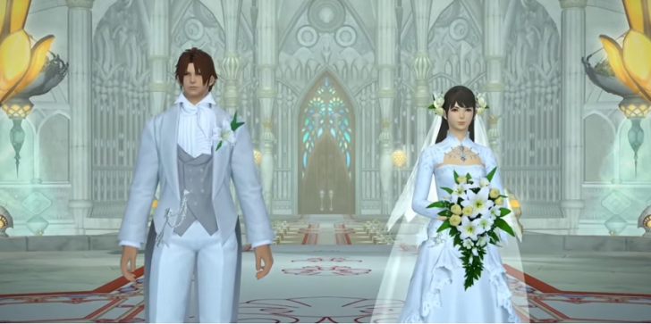 A 'Final Fantasy XIV' Love Story: A Couple's Romance In-Game and IRL