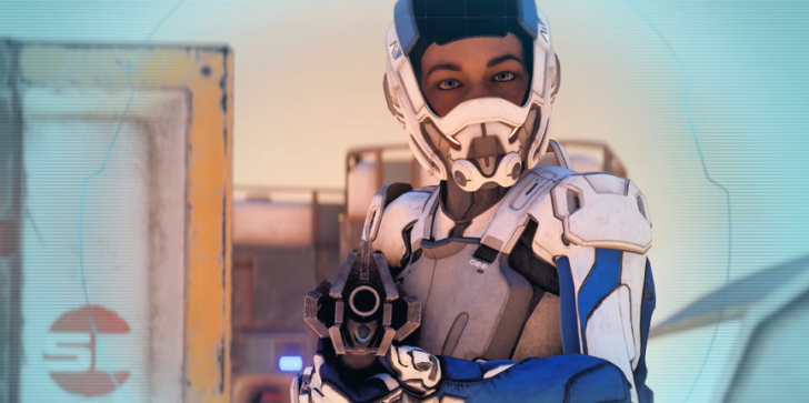 New Trailer For 'Mass Effect: Andromeda' Highlights Weapons Training
