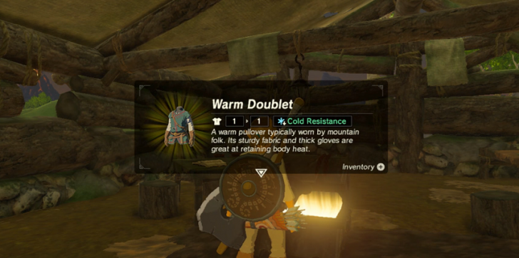 'The Legend Of Zelda Breath Of The Wild': Warm Doublet Guide