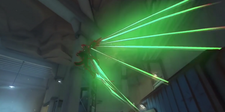 New 'Overwatch' Glitch Gives Mercy Larger Wings & A Lightshow