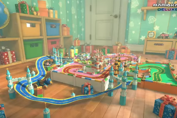 Mario Kart 8 Features Gameplay Characters Upgrade On